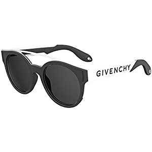 Sunglasses Givenchy Gv 7017 /N/S 080S Black White / IR gray blue lens