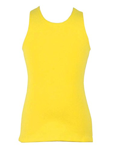 Spinning Tales Little Girls' Lemon Racerback Tank Top (6/6X) by Spinning Tales