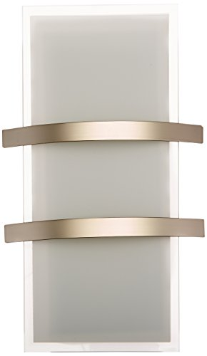 Metro - Wall Sconce - Brushed Steel Finish - Opal Glass - North Metro Locations