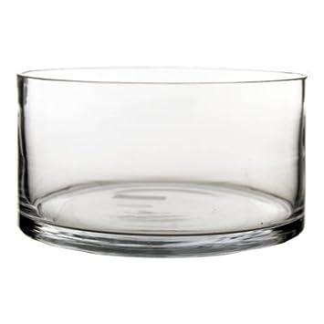 Amazoncom Cylinder Vases Bulk Wide Cylinder Vase H4 D8 4