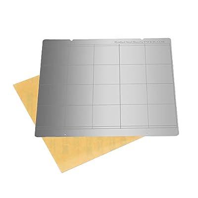 FYSETC 3D Printer MK3 Spring Steel Sheet Heat Bed Platform, MK52 Printing Buildplate with Hole for Reprap Prusa i3 MK3 MK2.5