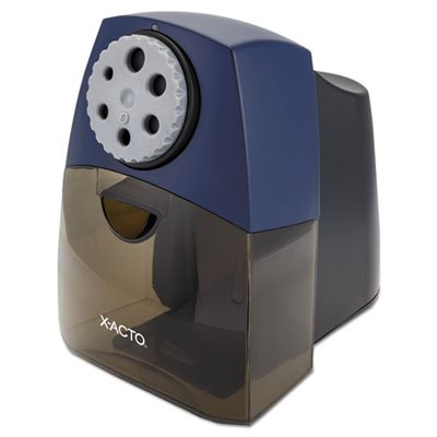X-ACTO 1675 TeacherPro Classroom Electric Pencil Sharpener, Blue by X-Acto