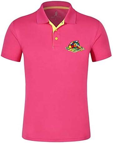 AVJDJ Moda de Verano para Hombre Camisas de Polo de Manga Corta de ...