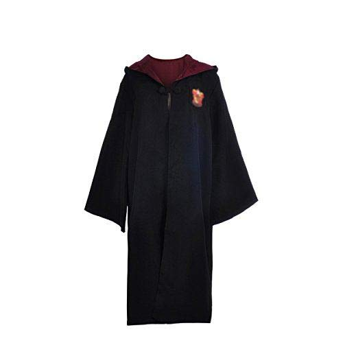 CulturedCustoms Magical School House Robe: Red Lion Griffin Patch - XL (Adult X-Large) Cosplay Prop Collectible Costume]()