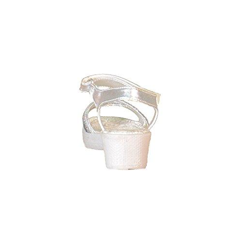 Primigi - Primigi Sandalias Niña Plata Cuero Velcro 63411 - Plata, 31
