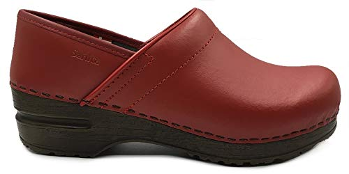 - Sanita 'Izabella' Professional Clogs in Red (Art:457006) - 39