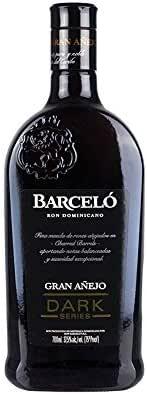 Ron BARCELÓ Gran Añejo Dark Series 37,5% vol. 700ml: Amazon ...