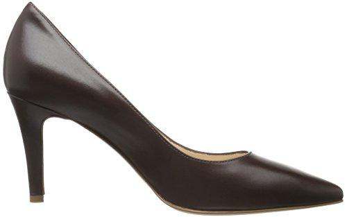 Marrón Cerrada Evita Dunkelbraun Tacón de 22 con Punta Zapatos para Aria Shoes Mujer xvvqnCwOS