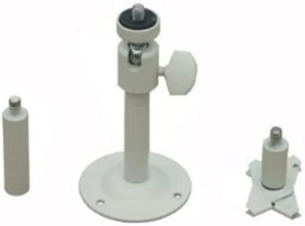VideoSecu 4 Wall Ceiling Mounts for Security Video Cameras 2-6 inch Adjustable Pan Tilt Camera Mounting Bracket 1S8