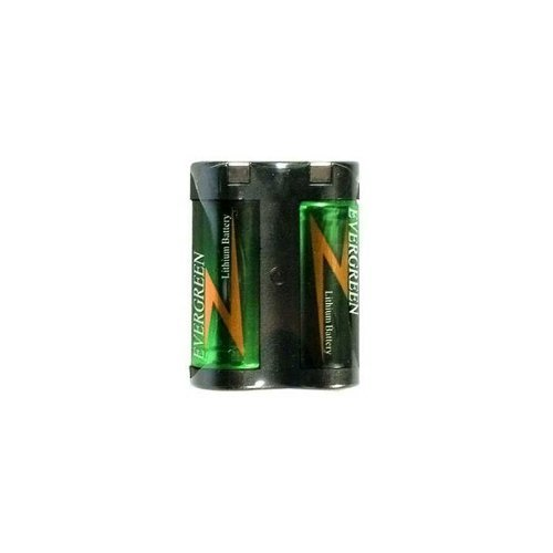 Evergreen 2CR5 245 6V Photo Lithium Battery 2CR5 fits KL2CR5 (2cr5m Battery)