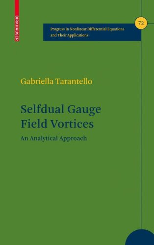 Selfdual Gauge Field Vortices: An Analytical Approach (Progress in Nonlinear Differential Equations and Their Applicatio