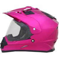 AFX FX-39 Unisex-Adult Full-Face-Helmet-Style Dual Sport Helmet (Fuchsia, Small)