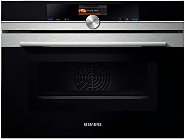 Siemens CM636GBS1 - Microondas (Integrado, 45 L, 1000 W, Tocar ...
