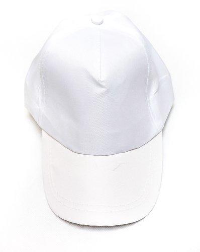 Hot Star Product Gorra de béisbol para hombre al aire libre Gorra de béisbol con protector solar transpirable Polo Estilo Clásico Sport Casual Gorra de béisbol sencilla Gorra de béisbol (Blanco)