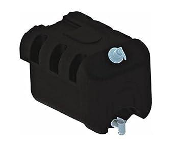 Amazon.es: Fahrzeugbedarf Wilms Vehículo requisitos Wilms - Bidón de agua 30L con dispensador de jabón para camiones auflieger colgante Caravana