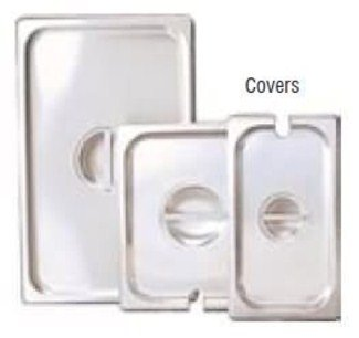 Adcraft Slot Cover For 1/6 Size Insert Pan (CST-S/Sl) - Steam Table Insert Cover