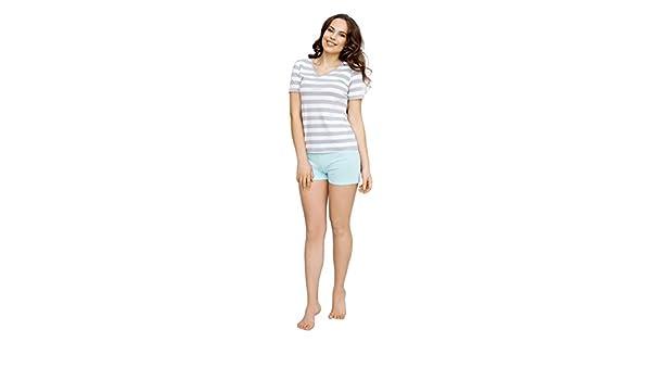Utenos Eco Collection - Conjunto de pijama de algodón orgánico (95 ...