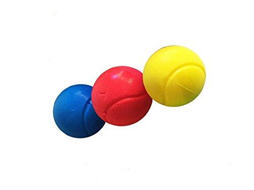 E-Deals Pelotas de tenis suaves de 70 mm Pack of 24 Assorted Colours en una variedad de colores