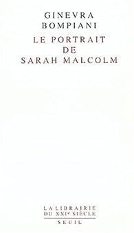 Le Portrait de Sarah Malcolm par Ginevra Bompiani