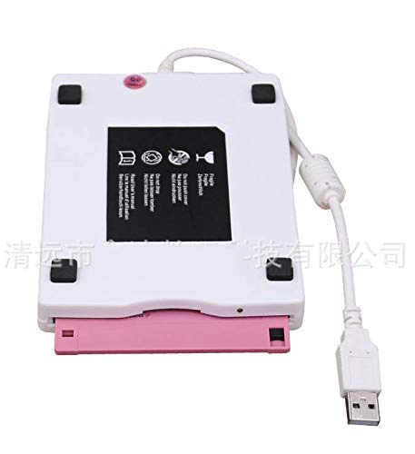 1.44M FDD External Plug-in Mobile Floppy Drive Industrial Floppy Drive Compatible with Notebook//Desktop//one Machine Mac,Black CE-LXYYD Usb2.0 External Floppy Drive