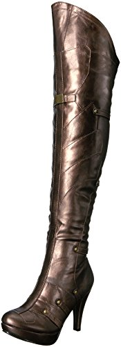 Ellie Shoes Women's 414-Blair Boot Bronze 6UmbDN