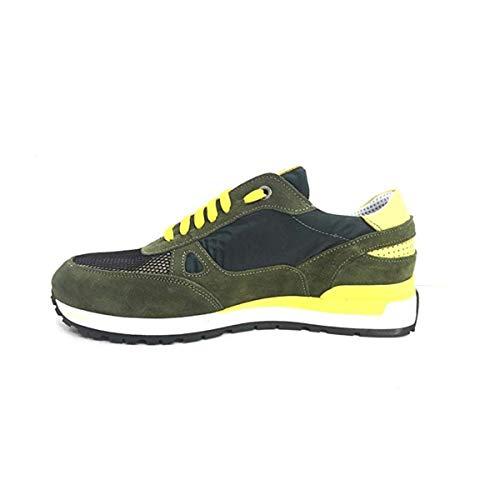 camlod Loden Verde 993 Camoscio In Uomo Exton Scarpe Sneaker 1w8Rnxf6