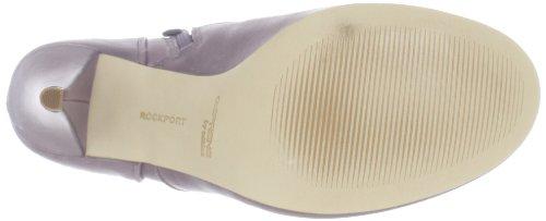 Rockport Presia Zip Shootie Femmes Bordeaux Cuir Chaussures Bottes EU 42