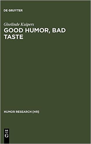 Good humor, bad taste : a sociology of the joke
