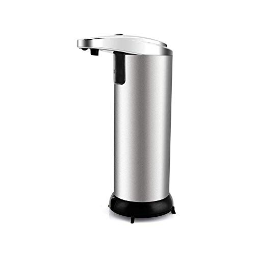 FanBell Automatic Touchless Liquid Kitchen Soap Dispenser with Waterproof Base, Infrared Motion Sensor Stainless Steel Dish Liquid Hands-Free Auto Soap Dispenser