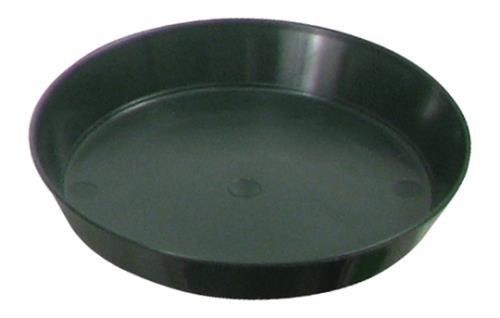 Premium Plastic Saucers Green Premium Plastic Saucer 6 in (128/Cs)