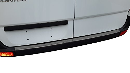MERCEDES SPRINTER CHROME REAR BUMPER SILL COVER STAINLESS STEEL PROTECTOR TRIM (BRUSHED)