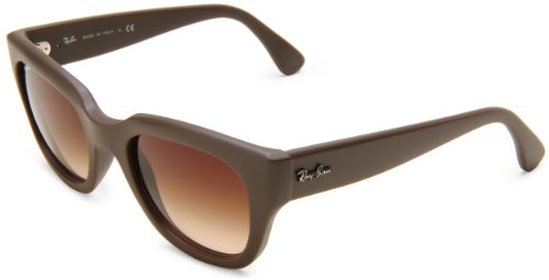 Ray-Ban RB4178 Square Sunglasses, DEMI SHINY TURTLEDOVE, 51 mm from Ray-Ban