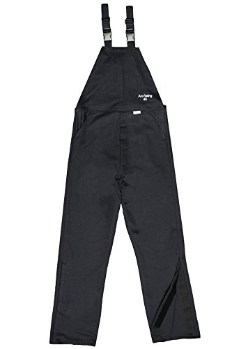 National Safety Apparel C45UQUQ40XL32 ArcGuard HRC 4 Arc Flash Bib Overall, X-Large, Navy