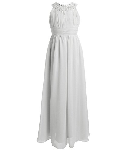 girl white formal dress - 4