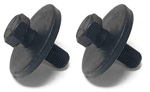 (Set of 2 Blade Bolts (Includes Washer) for Craftsman Poulan Husqvarna Blade Bolt Number 174365, 532174365 )