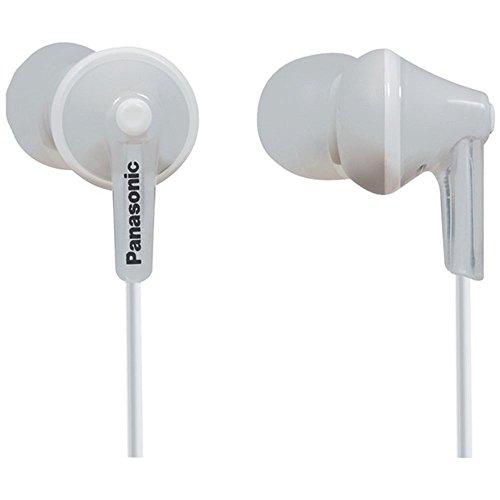 Panasonic TCM125 Earbud Headphones - In-line Control & Microphone - White Consumer electronics