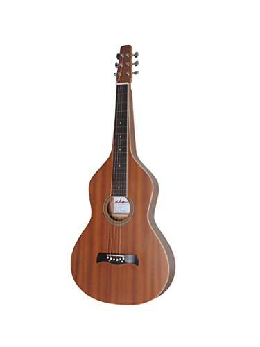 Guitar Steel Lap Acoustic (ADM JW331 Weissenborn Hawaiian Lap Steel Acoustic Guitar)