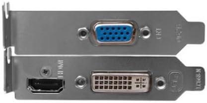 Reamtop Low Profile//mezza altezza supporto HDMI DVI e VGA per scheda grafica ATI NVIDIA video