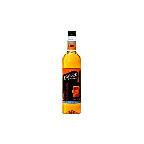 DaVinci Gourmet Sugar-Free Syrup, Caramel, 25.4 Ounce Bottle