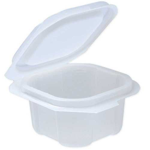 Liddles Portion Cups with Attached Lids Translucent Cups Translucent Lids, 2 Ounce -- 900 per case.