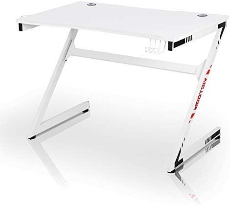 Yokstore White Gaming Desk