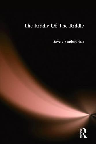 The Riddle of the Riddle