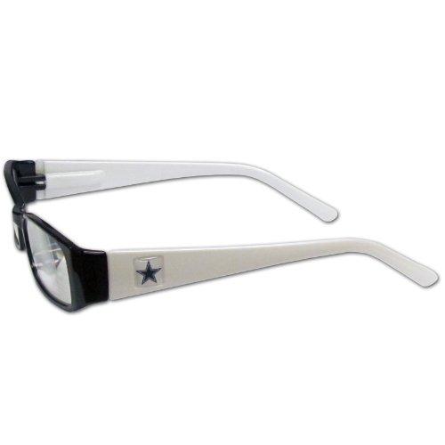 Dallas Cowboys Team Colors (NFL Team Color Reading Glasses (+1.25, Dallas Cowboys))