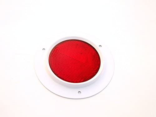 2X Trailer Truck Car Bus Tractor Reflex Reflector RED- 15000701