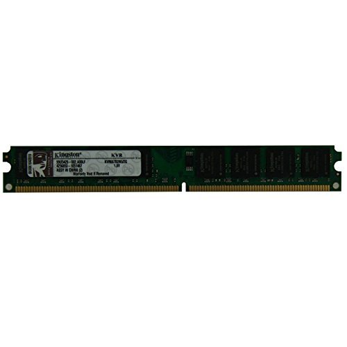 Valueram 2gb Ddr2 Sdram Memory - Kingston 2GB KVR667D2N5/2G ValueRAM PC2-5300 (DDR2-667) DIMM 667 MHz 1.8V 240 Pin Memory