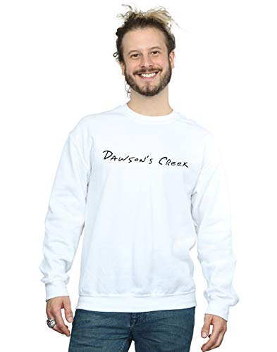 Creek Dawson's Cult Absolute Sweat shirt Blanc Homme Logo Text q6SEAwz