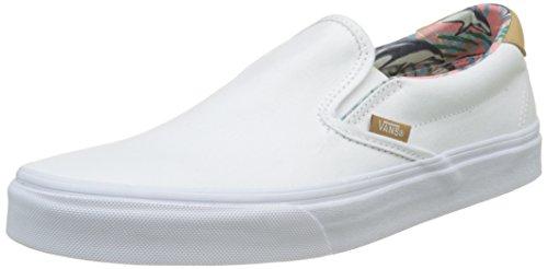 Vans Unisex Classic Slip-On Shoes C&l Dolphins/True White A51wQWud9m