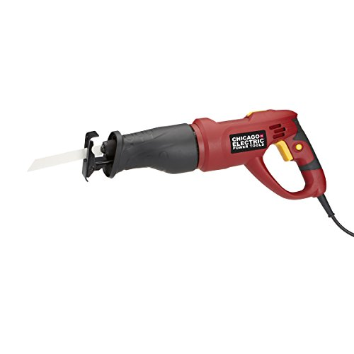 CHICAGO ELECTRIC Power Tools - Reciprocating Saw with Rotati
