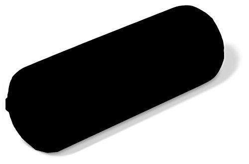 - NRG Jumbo Round Massage Bolster Durable Massage/Spa Table Pillow Cushion (Black)