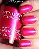 REVLON Colorstay Nail Enamel, Wild Strawberry, 0.4 Fluid Ounce